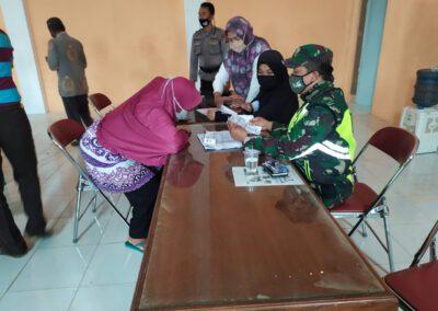 Pemdes Babakanpari Gelontorkan Dana Desa Sebesar Rp. 106 Juta untuk alokasi BLT Tahap III.